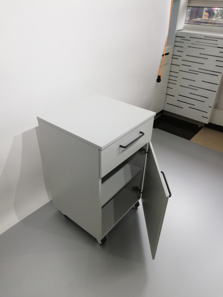Corp mobil under-bench de depozitare, cu un sertar si o usa - 500 mm 4