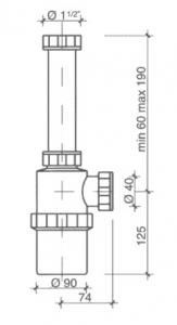 Sifon antiacid pentru Laborator_PP1