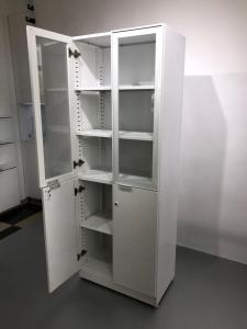 Dulap inalt / vitrina – depozitare sticlarie/consumabile/documente1