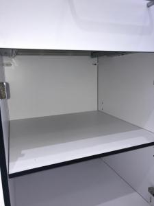 Corp mobil under-bench de depozitare, cu un sertar si o usa - 500 mm (HPL) [4]