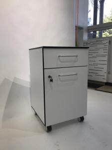 Corp mobil under-bench de depozitare, cu un sertar si o usa - 500 mm (HPL) [3]