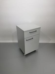 Corp mobil under-bench de depozitare, cu un sertar si o usa - 500 mm0