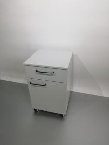 Corp mobil under-bench de depozitare, cu un sertar si o usa - 600 mm2