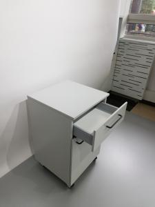 Corp mobil under-bench de depozitare, cu un sertar si o usa - 500 mm3