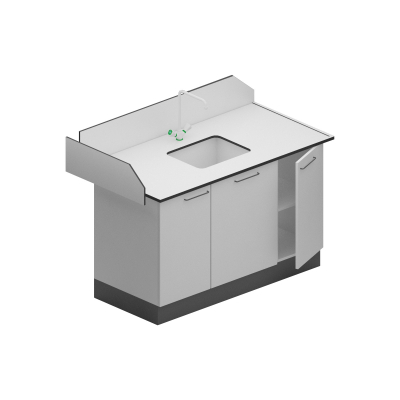 Modul sanitar simplu - dimensiuni 1200/750/900 mm [0]