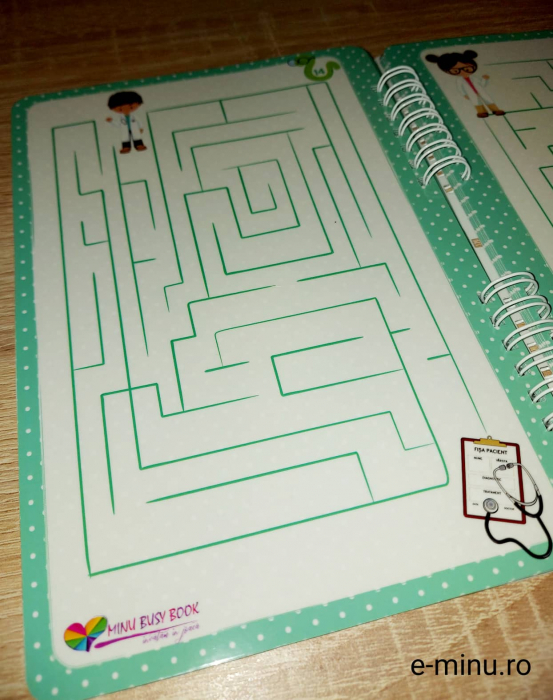 Labirinturi - caiet cu marker 14
