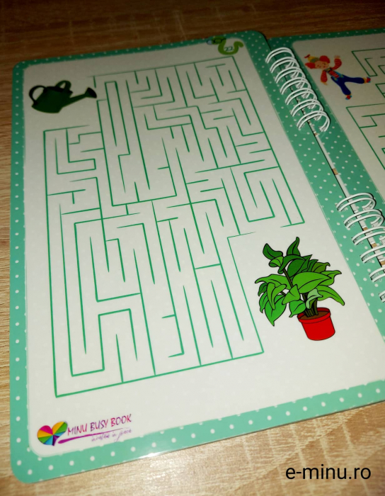 Labirinturi - caiet cu marker 21
