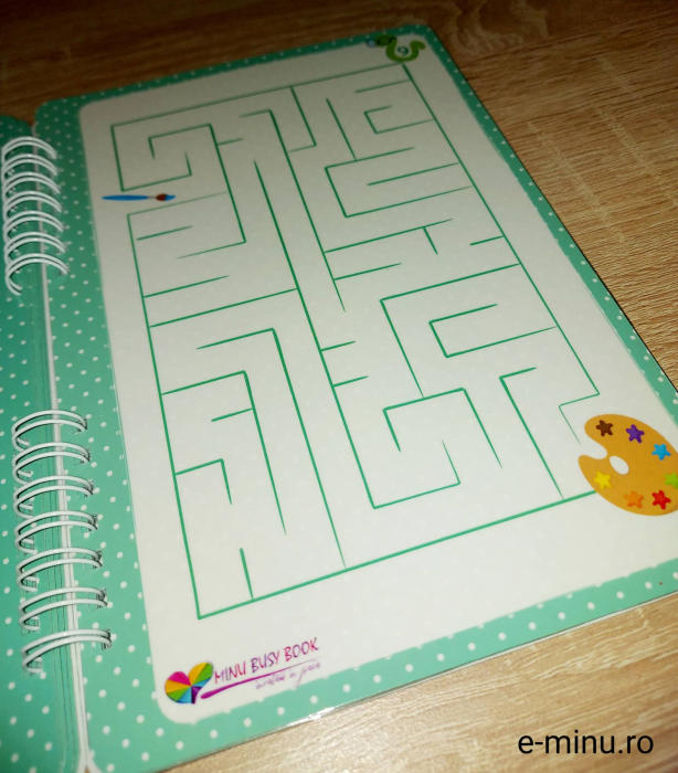 Labirinturi - caiet cu marker 9
