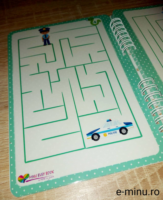 Labirinturi - caiet cu marker 4