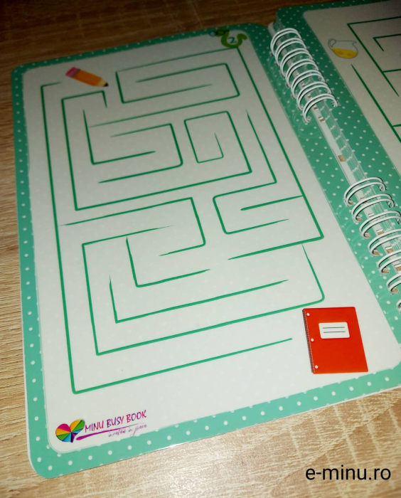 Labirinturi - caiet cu marker 2