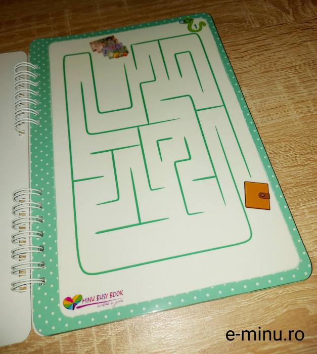 Labirinturi - caiet cu marker 1