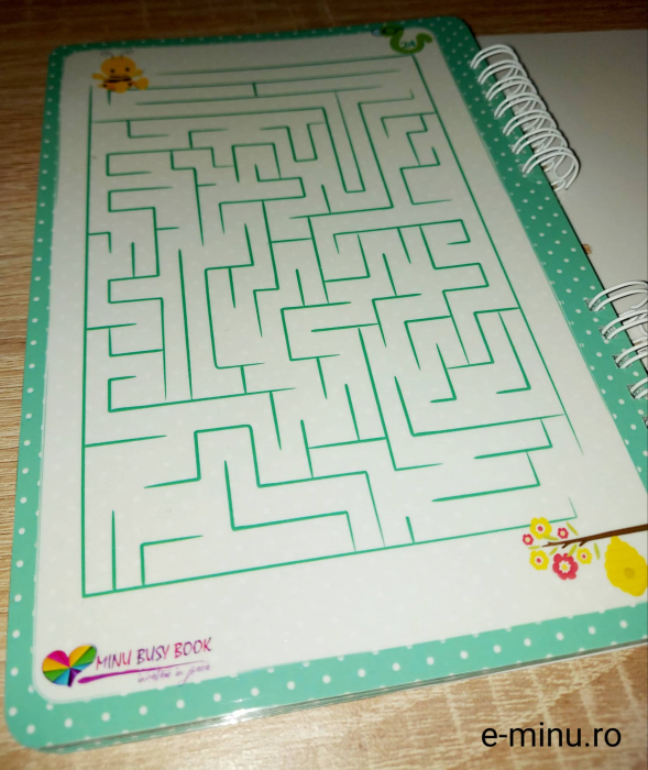 Labirinturi - caiet cu marker 22