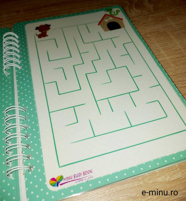 Labirinturi - caiet cu marker 7