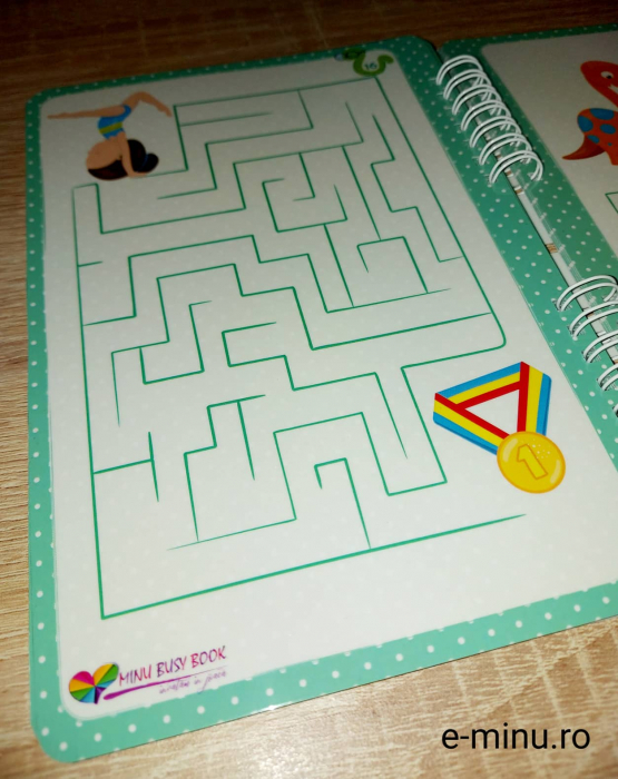 Labirinturi - caiet cu marker 15