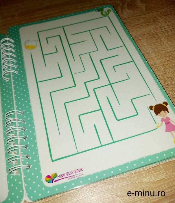 Labirinturi - caiet cu marker 3