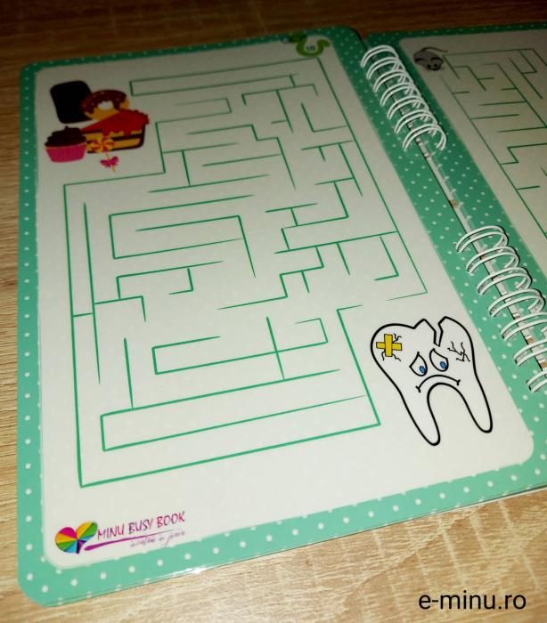 Labirinturi - caiet cu marker 17