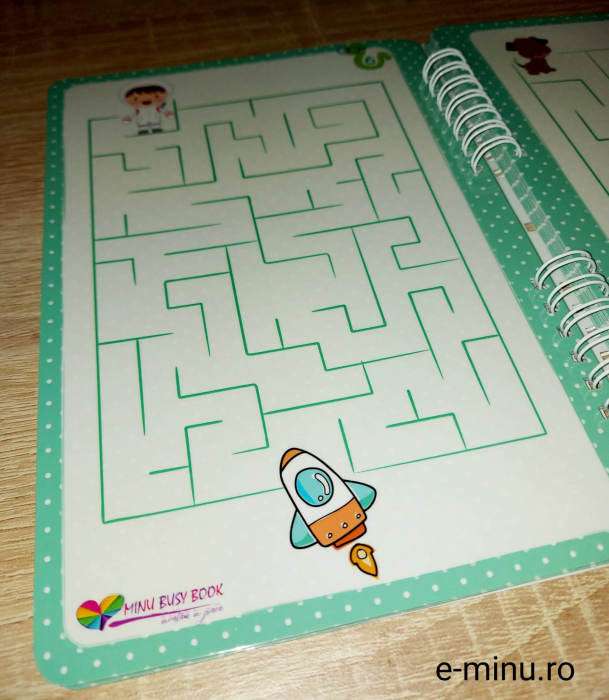 Labirinturi - caiet cu marker 6