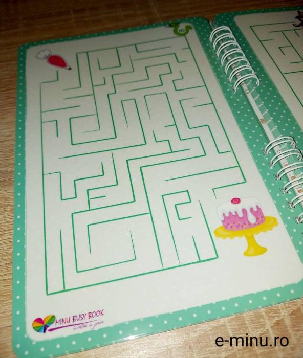 Labirinturi - caiet cu marker 10