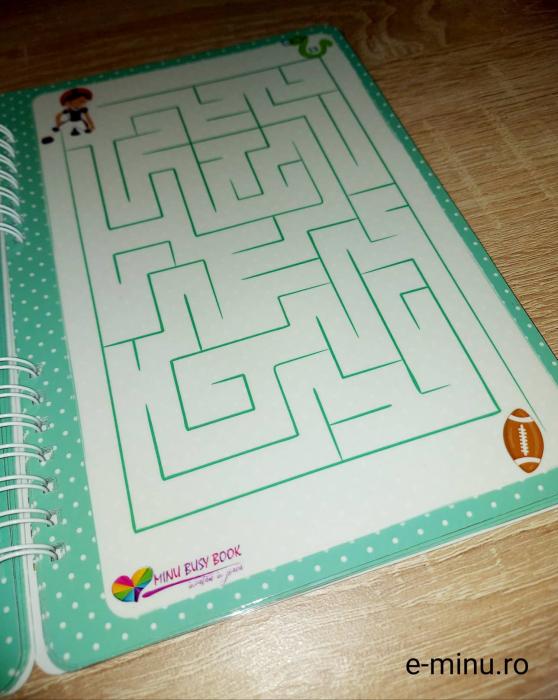 Labirinturi - caiet cu marker [13]