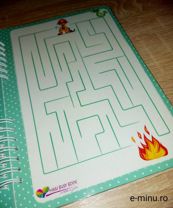 Labirinturi - caiet cu marker 5