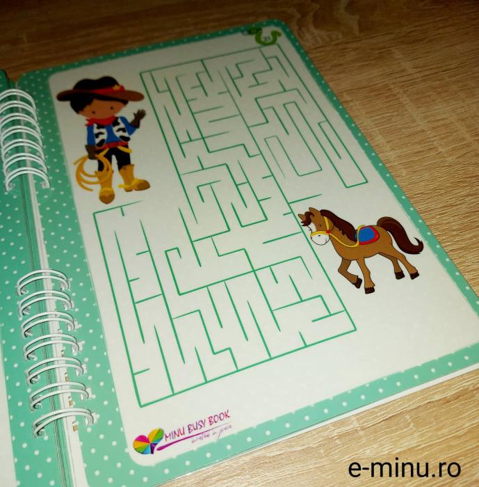 Labirinturi - caiet cu marker 20