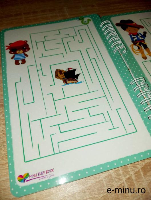 Labirinturi - caiet cu marker 19