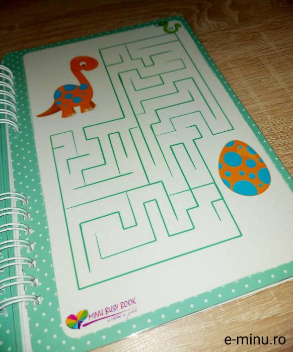 Labirinturi - caiet cu marker 16