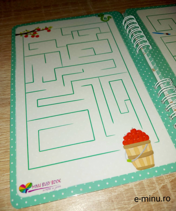 Labirinturi - caiet cu marker 8