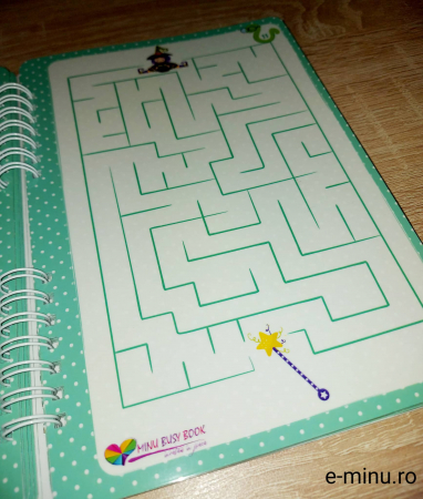 Labirinturi - caiet cu marker [11]