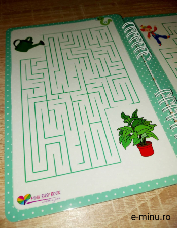 Labirinturi - caiet cu marker21