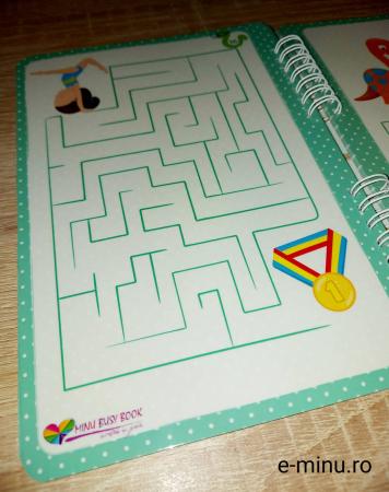 Labirinturi - caiet cu marker [15]