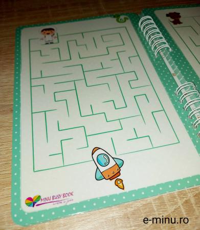 Labirinturi - caiet cu marker [6]