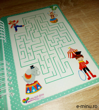 Labirinturi - caiet cu marker [23]