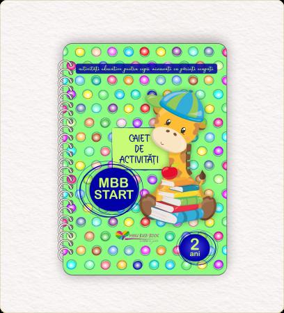 Caiet de activitati educative Minu Busy Book [0]