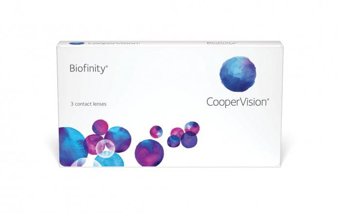 Biofinity (3 lentile) pentru corecția miopiei și hipermetropiei | EbaOptics.ro 0
