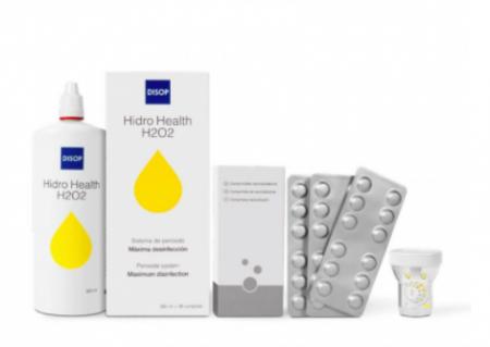 Disop Hidro Health H2O2, soluție pe bază de peroxid, flacon de 360 ml + 36 tablete | EbaOptics.ro [1]