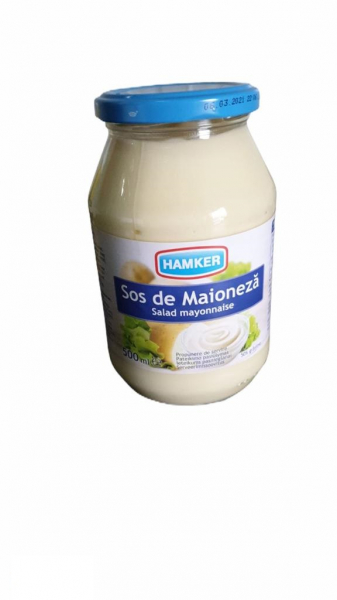 Sos de maioneza 500ml Hamker 0