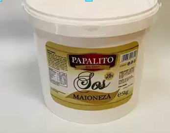 Maioneza Sos 5kg fara ou 0