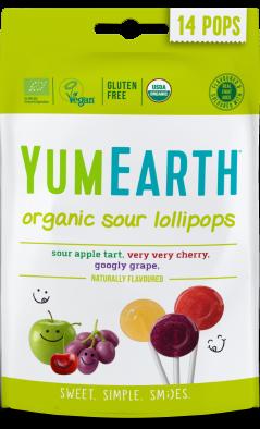 Acadele Organice  Acrisoare YumEarth 14buc [0]