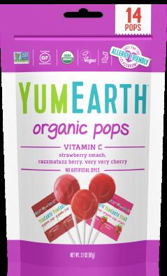 Acadele Organice  cu Vitamina C YumEarth 14buc [0]