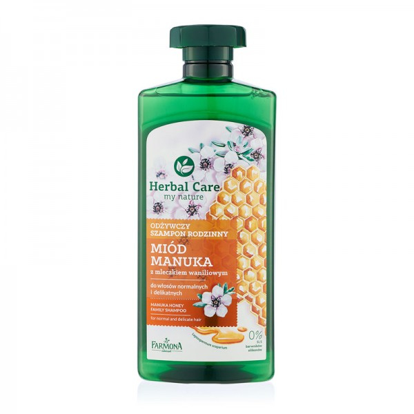 Șampon Nutritiv FAMILY cu MIERE MANUKA [0]