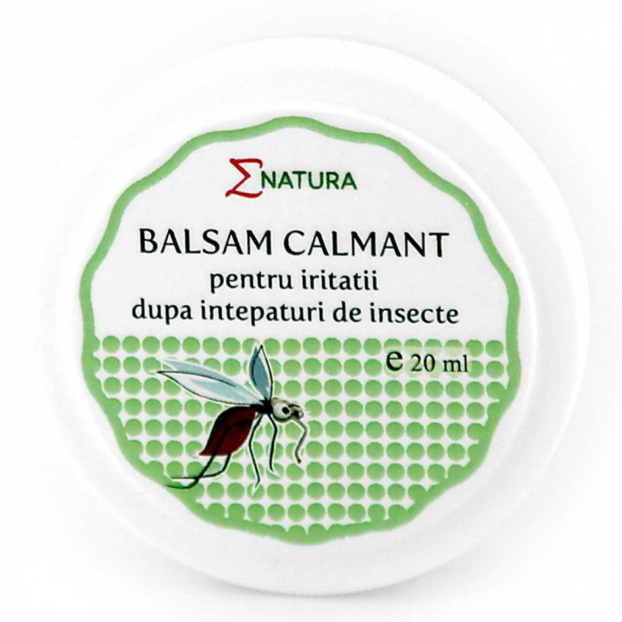 Balsam calmant pentru iritatii dupa intepaturi de insecte 20ml - ENATURA [0]