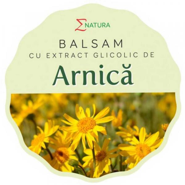 Balsam cu extract glicolic de arnica, 30ml - ENATURA [0]