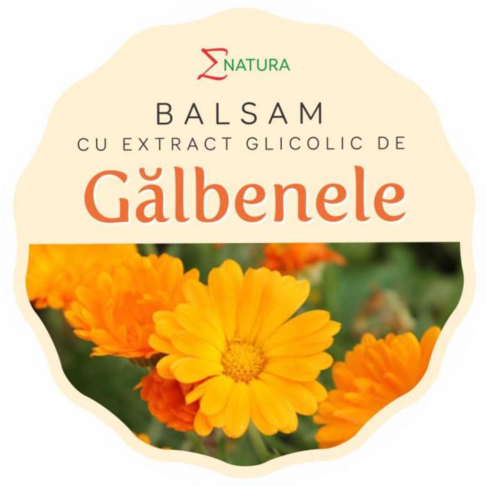 Balsam cu extract glicolic de galbenele, 30ml - ENATURA [0]