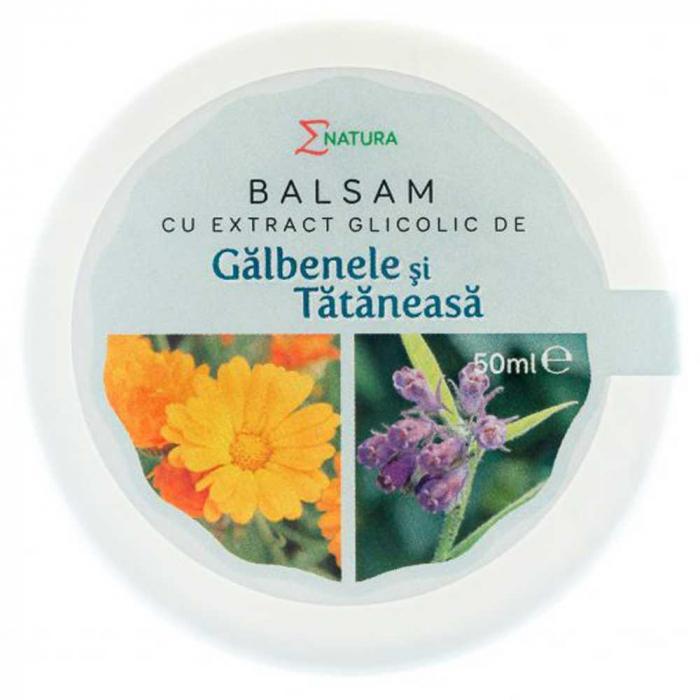 Balsam cu extract glicolic de galbenele si tataneasa 30ml - ENATURA [0]