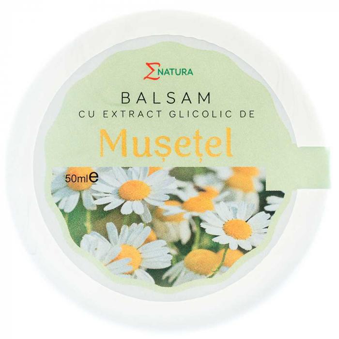 Balsam cu extract glicolic de musetel 30ml - ENATURA [0]