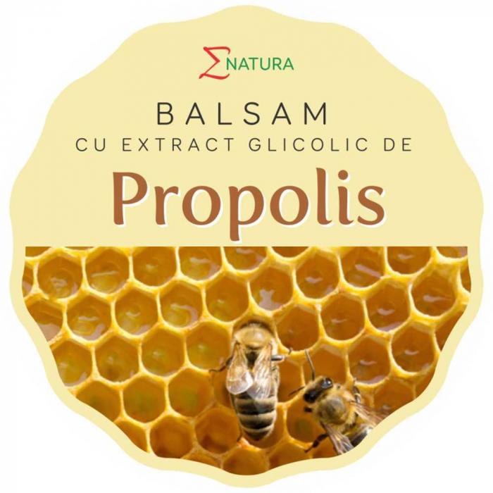 Balsam cu extract glicolic de propolis, 30ml - ENATURA [0]