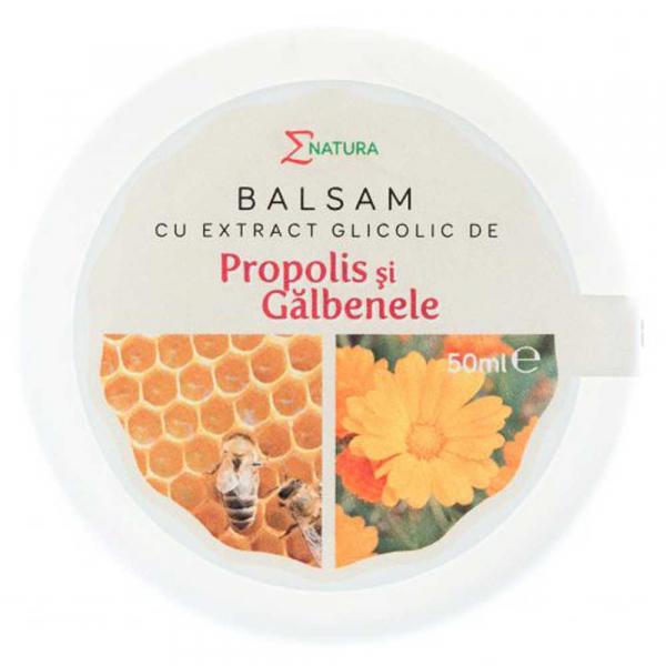 Balsam cu extract glicolic de propolis si galbenele, 30ml - ENATURA [0]