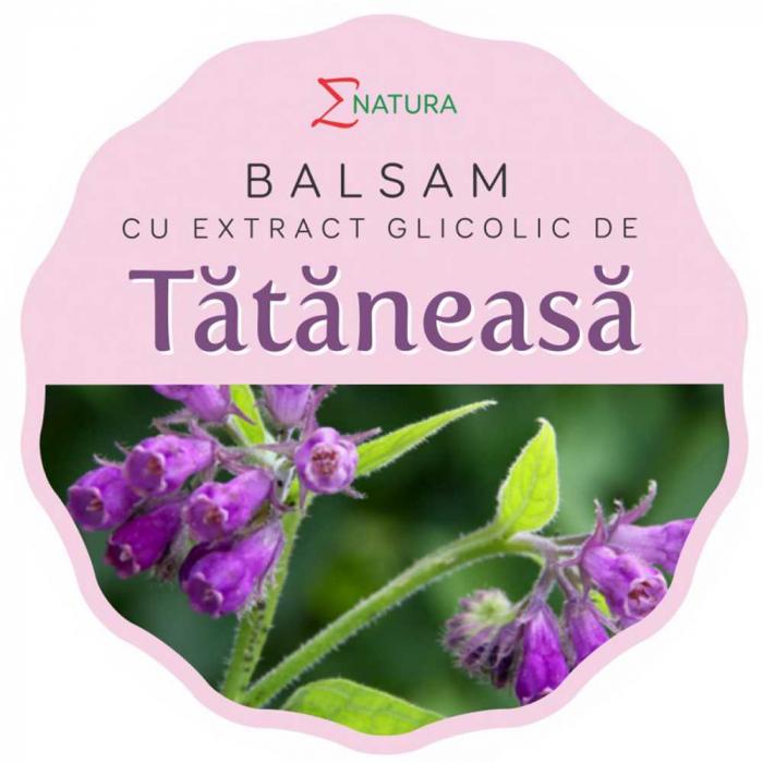 Balsam cu extract glicolic de tataneasa, 50ml - ENATURA [0]