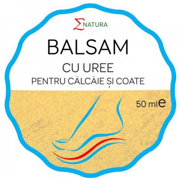 Balsam cu uree pentru coate si calcaie, 50ml - ENATURA [0]
